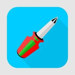 SCREWDRIVER ICON VECTOR.eps