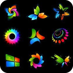 Beautiful Vector Graphics Logo