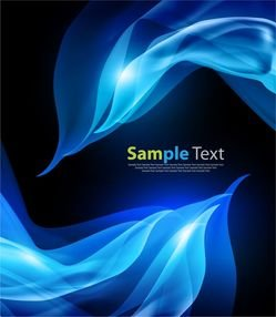 Abstract Blue Vector Background Image