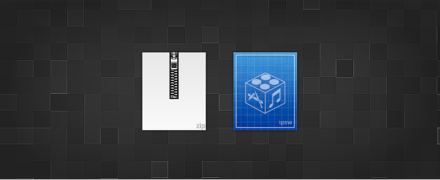 Zip and IPSW Icons