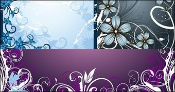 Fashion flowers frame material
