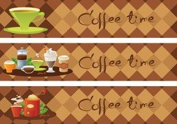 Coffee Time Vector 5