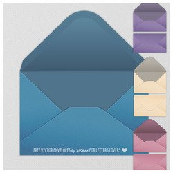 Free Vector Envelopes
