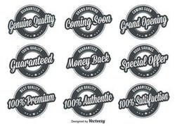 Quality Retro Badges