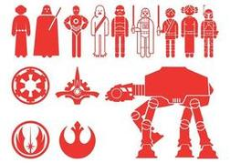 Star Wars Characters Silhouettes