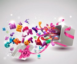Amazing abstract colorful background
