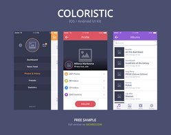 Coloristic: Free PSD Sample
