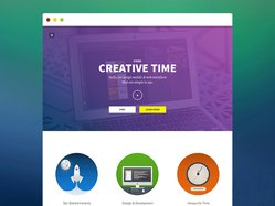Creative Time Responsive Template