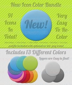 "New"" Icon Color Bundle"