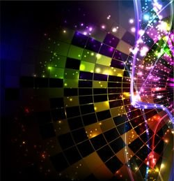 Abstract Design Vector Background Art