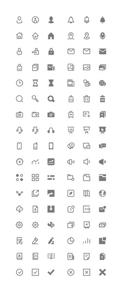 Icons for UI (Freebie)