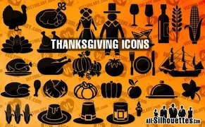 32 Thanksgiving day symbols