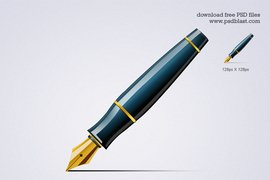 Pen Icon (PSD)