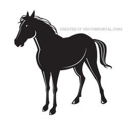 BLACK HORSE VECTOR GRAPHICS.eps