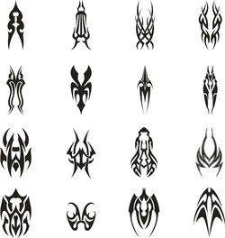 Tattoo Vector Set 1