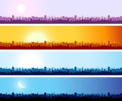 City Silhouette Banner