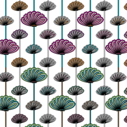 Flower Wallpaper Vector Patterns Free Download