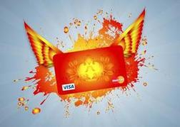 Flying Credit Card