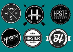 Free Hipster Badge Vector Pack