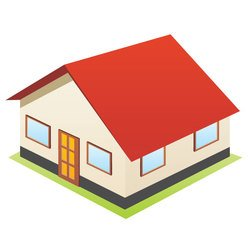 HOUSE 3D STYLE VECTOR DOWNLOAD.eps