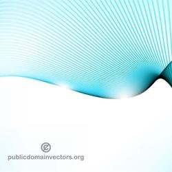 WAVY BLUE LINES ABSTRACT VECTOR.ai