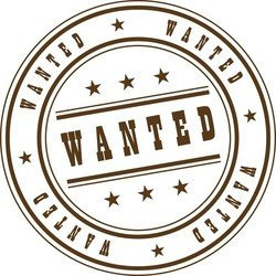 Wanted Stamp