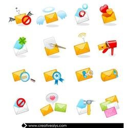 MAIL ICONS VECTOR SET.eps