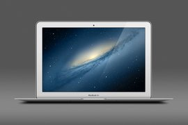 Macbook Air PSD