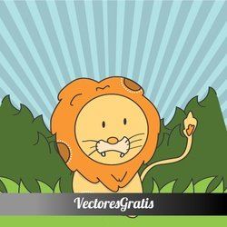CUTE LION VECTOR ILLUSTRATION.ai