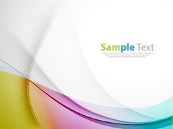 Abstract Coloured Background Vector Illustration Art