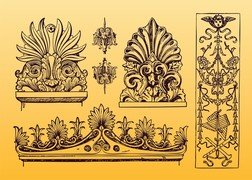 Antique Ornament Vectors