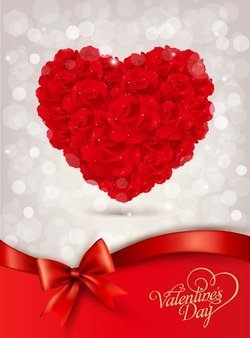 Red Rose for Valentine Day