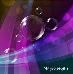 Colorful Bubble Background