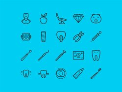 20 free dental icons