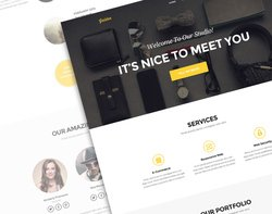Golden PSD Theme