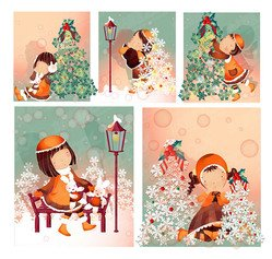 Christmas Theme 3 (South Korea iClickart Four Seasons cute g