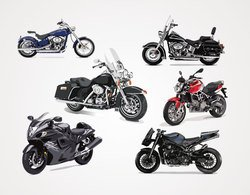 Motorcycle Vector Graphics (Free)