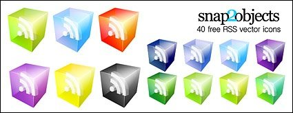 3D RSS Subscribe icon