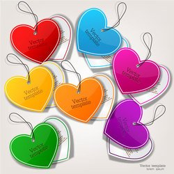 Exquisite creative label sticker vector-11