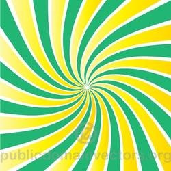 GREEN AND YELLOW RADIAL BEAM VECTOR.eps
