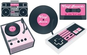 Vinyl player and Cassette Player