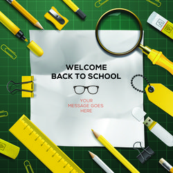 Back to school background graphics vector 02