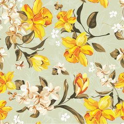 Beautiful flowers and patterns 01