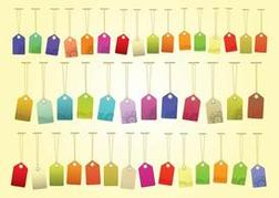 Colorful Tags