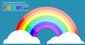 Rainbow Cloud Vectors Psd Rainbow Vectors