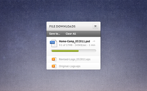 FIle Download Widget