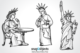 Free Vector Statue of Liberty