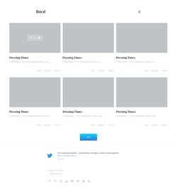 Free Web Design Template (2/365)