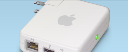 Apple Airport Express Vector Graphic