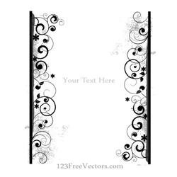 DECORATIVE FRAME TEMPLATE VECTOR.eps